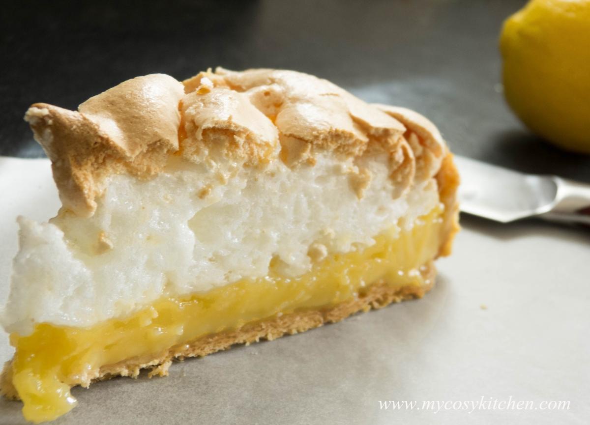 Lemon-Lime Meringue Pie | my cosy kitchen
