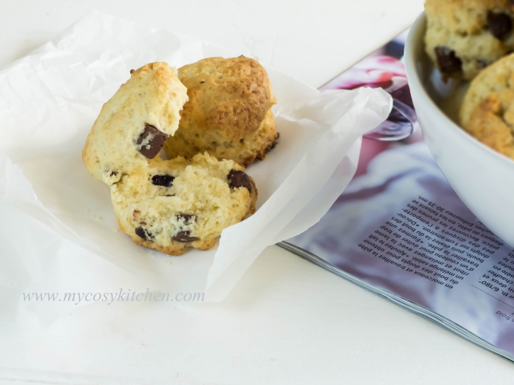 Chocolate-Chip Scones