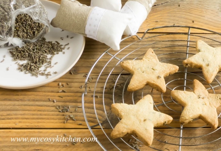 Lavender Shortbread-Stars